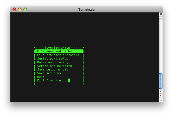 How to install minicom on Mac OS X – Snow leopard – xAppSoftware